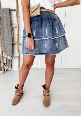 Spódniczka Jeans Tweed