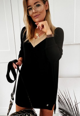 Sweter Cocomore Sheeny Black
