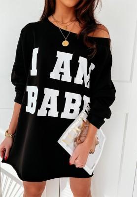 Bluza I'm Babe Black