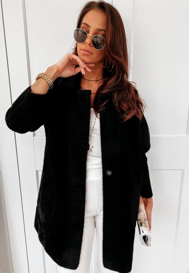 Płaszcz Alpaka Royal Black