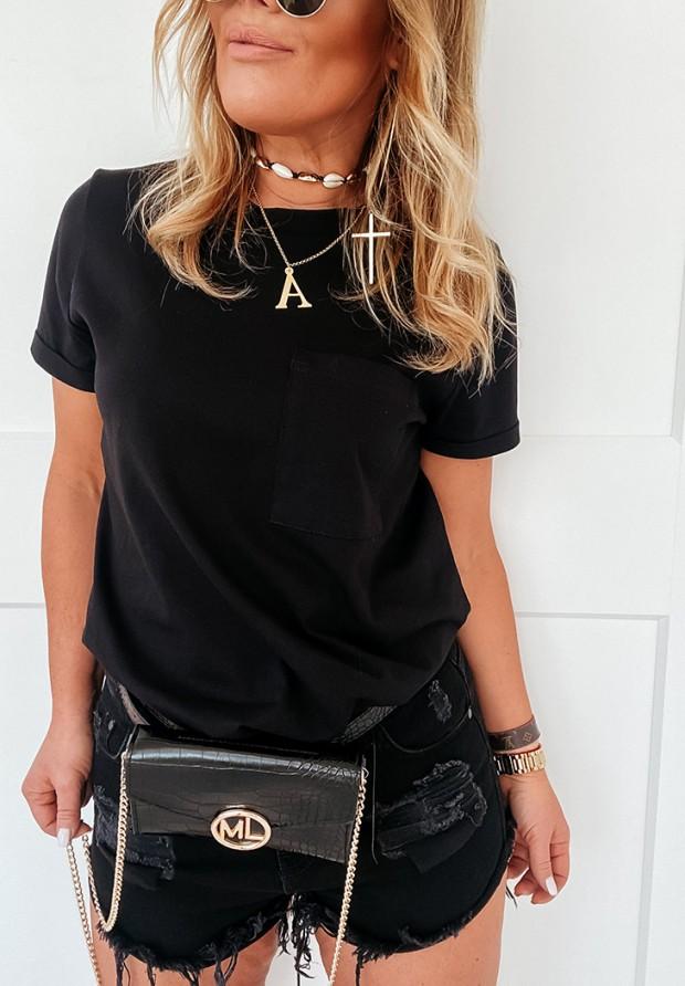 Bluzka Pocket Black