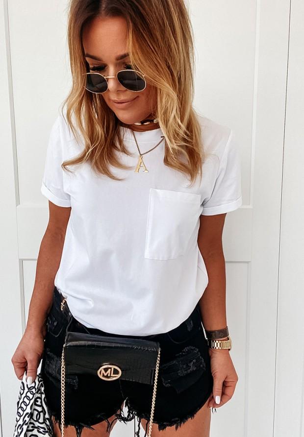 Bluzka Pocket White