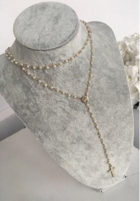 Naszyjnik Różaniec Pearl