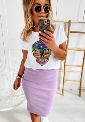 Spódnica Slim Skirt Lilac