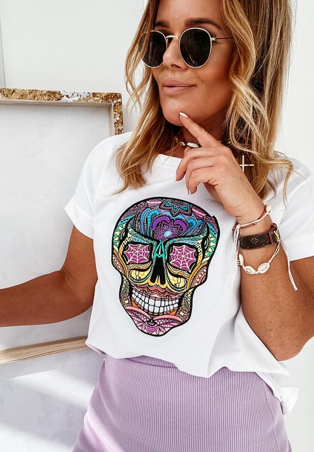 T-shirt Skull White