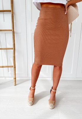 Spódnica Slim Skirt Camel