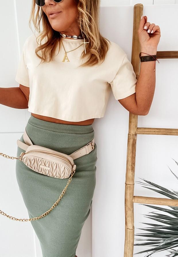 Spódnica Slim Skirt Khaki