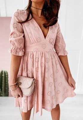 Sukienka Boho Rebecca Powder