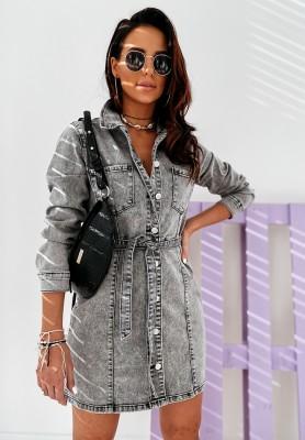 Sukienka Jeans Grey Manali