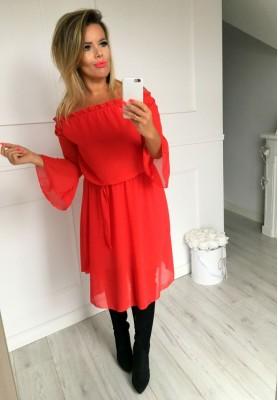 Sukienka Brushetta Czerwona