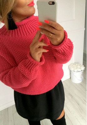 Sweter Boci Fuksja