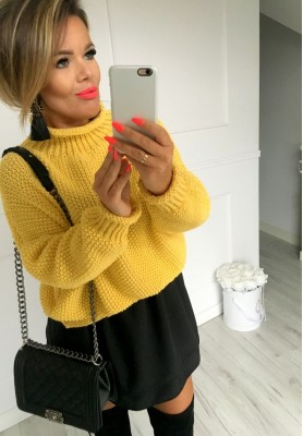 Sweter Boci Cytryna
