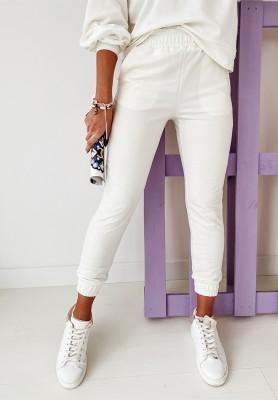 Spodnie Comfort Ecru