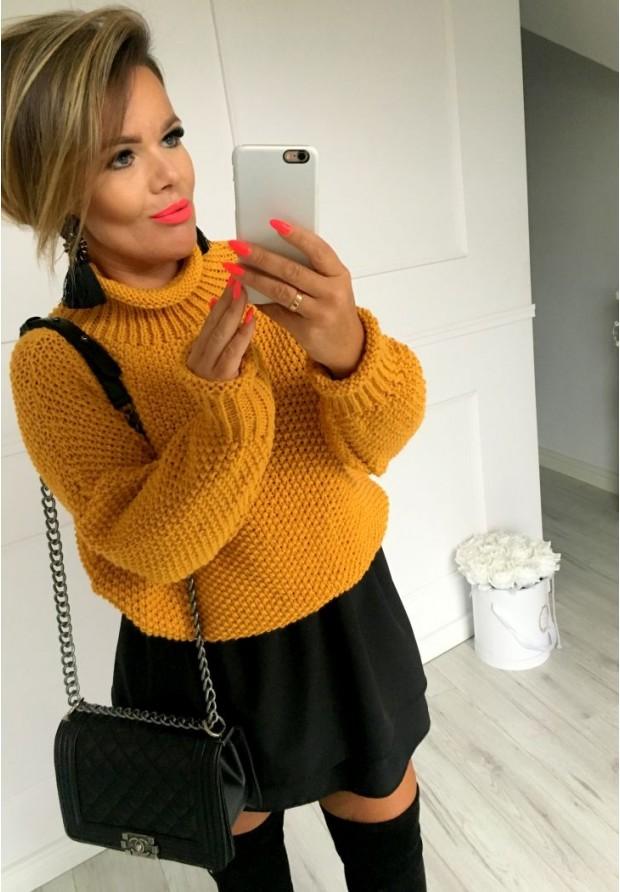 Sweter Boci Musztarda