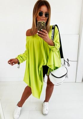 Bluzka Oversize Zella Lime