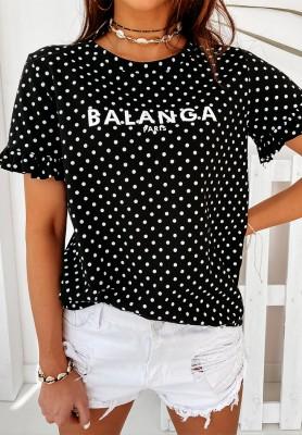 Bluzka Balanga Dots Black