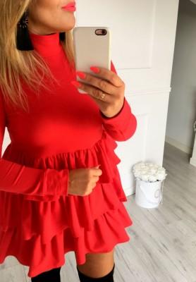 Sukienka Hosa Czerwona