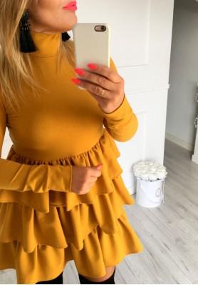 Sukienka Hosa Musztarda