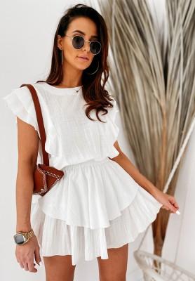 Sukienka Darby White