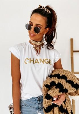 Bluzka Change White