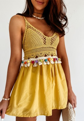 Top Boho Miranda Yellow