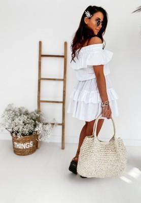 Sukienka Melvilla White