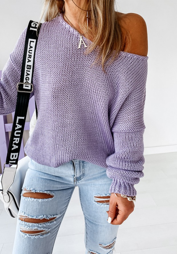 Sweter Feel Lilac