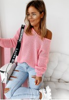 Sweter Feel Pink