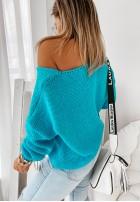 Sweter Feel Turqouisse