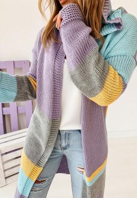 Sweter Kardigan Power Pastel