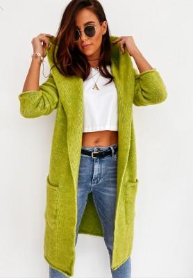 Sweter Kardigan Alinda Lime