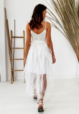 Sukienka Barbados Tiul White