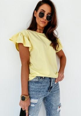 Bluzka Malva Yellow
