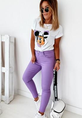 Spodnie Jeans Lumos Violet