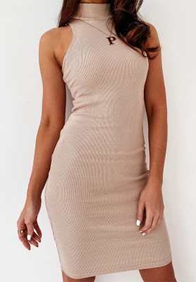 Sukienka Slim Efez Nude