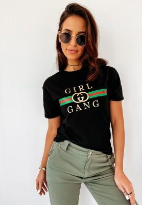 T-shirt Girl Gang Black