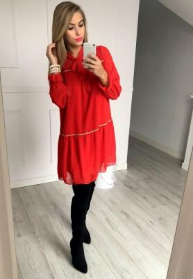 Sukienka Santa Czerwona