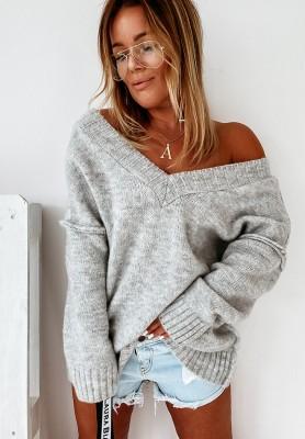 Sweter Oversize Sintra Grey