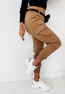 Spodnie Bojówki Mirette Camel