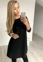 Sukienka Champagne Czarna
