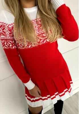Sukienka Christmas White