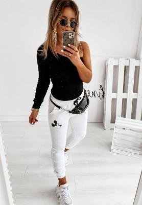 Spodnie Dresowe Mouse White