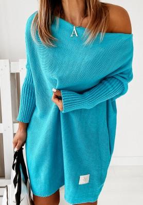 Sweter California Turquoise