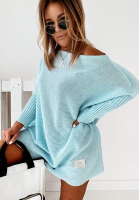 Sweter California Light Blue