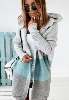 Sweter Kardigan Debby Blue