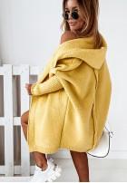 Sweter Kardigan Montemare Yellow