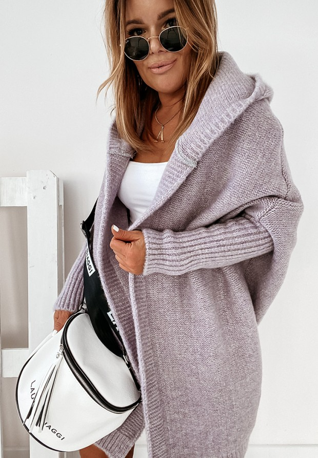 Sweter Kardigan Montemare Lilac