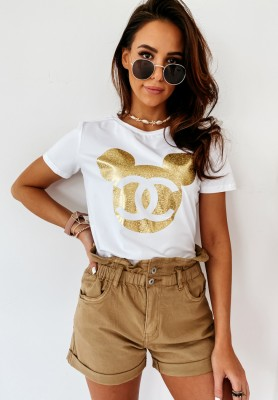 T-shirt Cocomore Mouse White