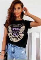 T-shirt Heritage Black