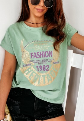 T-shirt Heritage Green